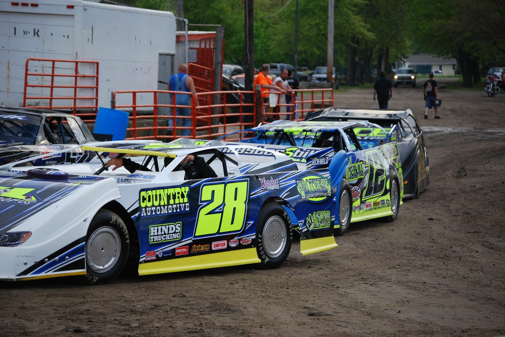 how to make a dirt late model body